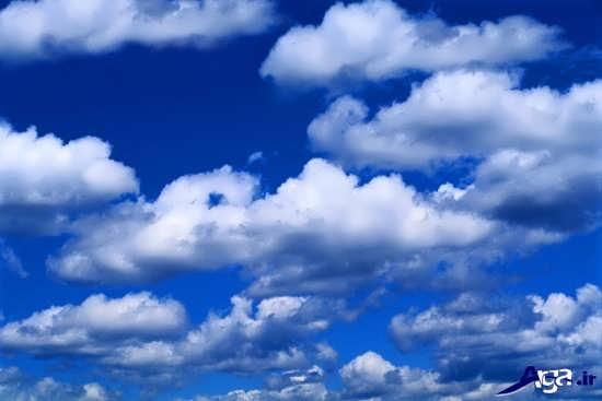 تصاویر آسمان با ابرهای بسیار زبا