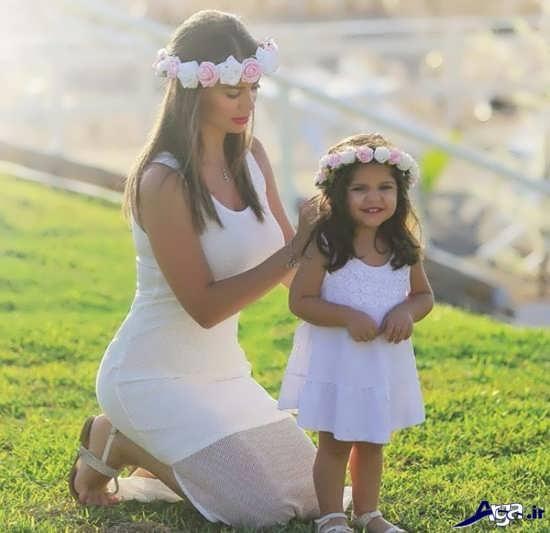 عکس پروفایل مادر برای دخترش
