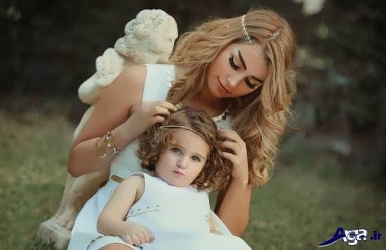 عکس های مادر و فرزند
