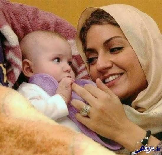 عکس مادر و فرزند با ژست های آتلیه ای بسیار زیبا