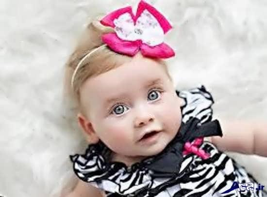 نوزاد دختر زیبا و ناز