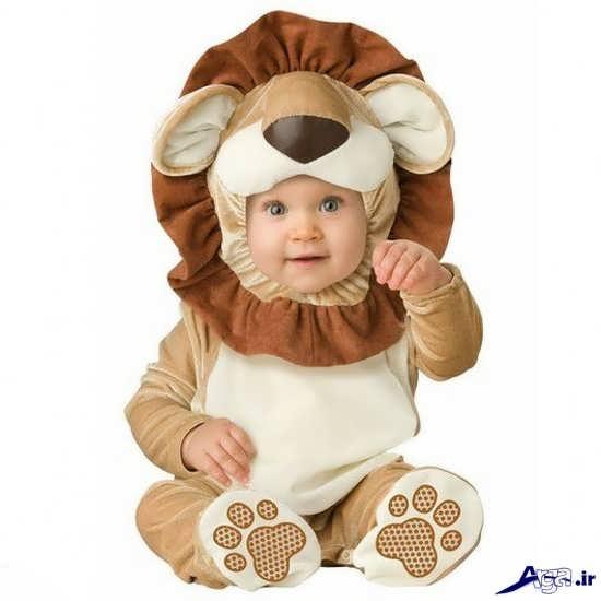 نوزاد بامزه و بانمک