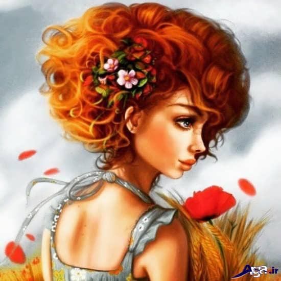 عکس زیبای پروفایل دخترانه