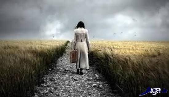عکس غم انگیز تنهایی