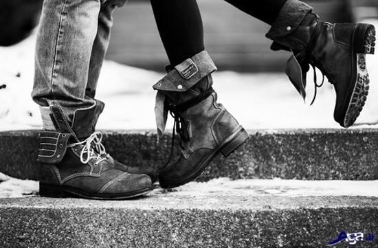 عکس های دونفره و عاشقانه سیاه و سفید