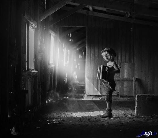عکس های جذاب سیاه و سفید