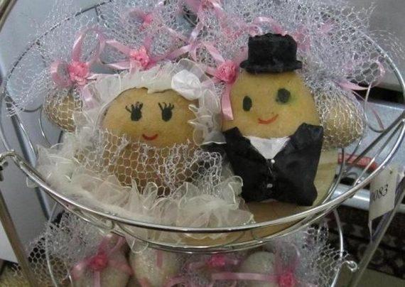 تزیین سیب زمینی و پیاز عروس