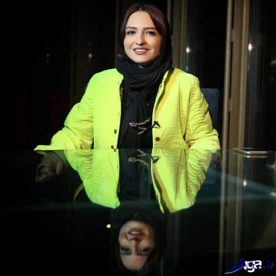 گلاره عباسی بازیگر زیبا و همسرش