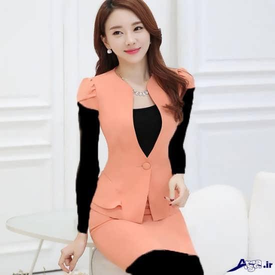 مدل کت ودامن کره ای دخترانه