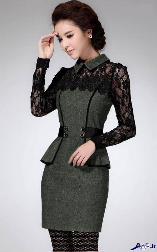 لباس مجلسی پوشیده دخترانه