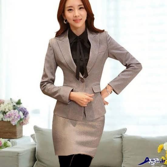 مدل کت و دامن کره ای رسمی