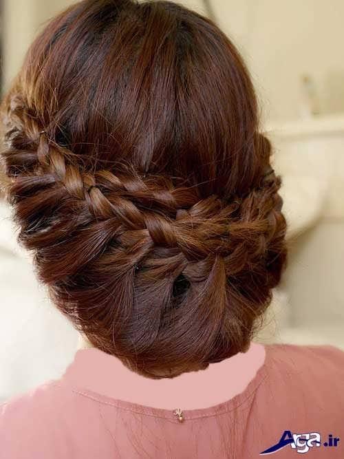 مدل شینیون موهای دخترانه