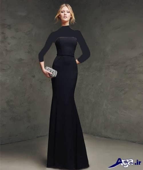 لباس مجلسی ساده بلند