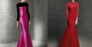 مدل لباس مجلسی شیک و بلند زنانه و دخترانه