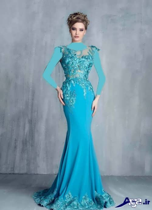 زیباترین نمونه های مدل لباس مجلسی بلند