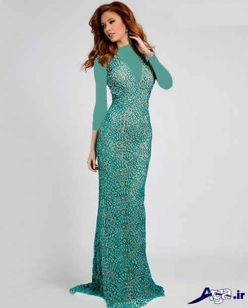 مدل لباس مجلسی بلند زنانه و دخترانه