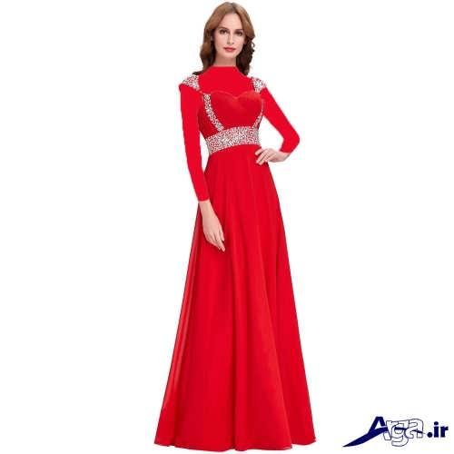 لباس مجلسی بلند زیبا