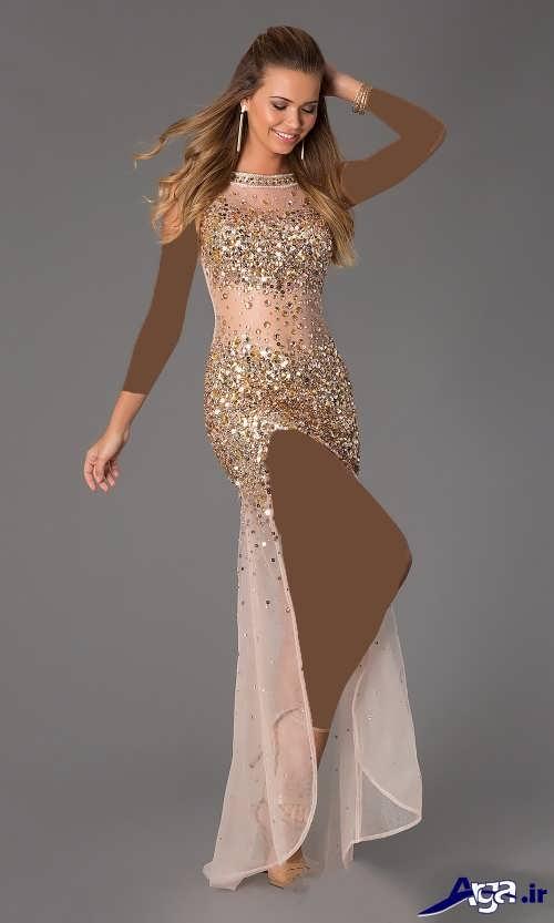 مدل لباس های مجلسی زنانه و دخترانه بلند