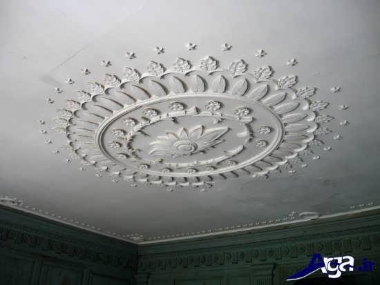 مدل های گچ بری سقف