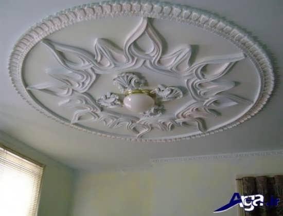 مدل گچ بری سقف برای خانه های لوکس