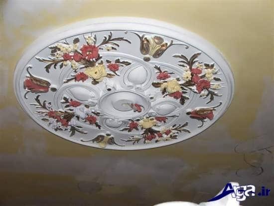 مدل گچ بری کلاسیک سقف
