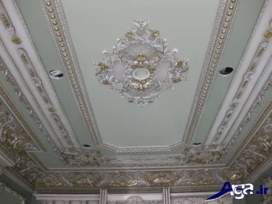 مدل گچ بری سقف برای پذایریی