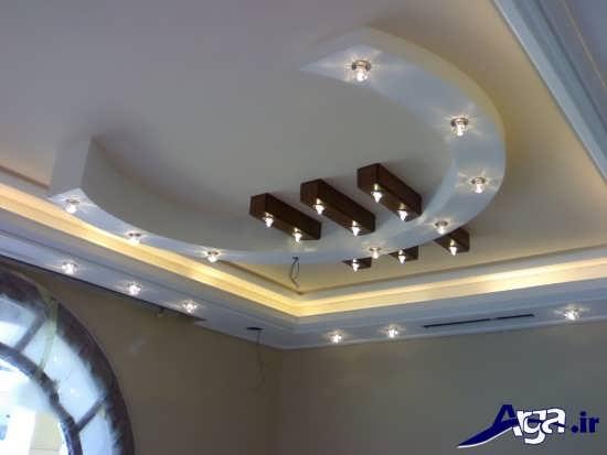 گچ بری سقف زیبا و جدید
