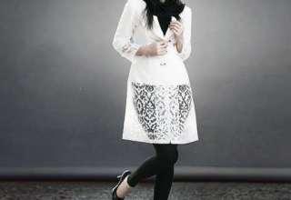 گالری مدل مانتو سفید