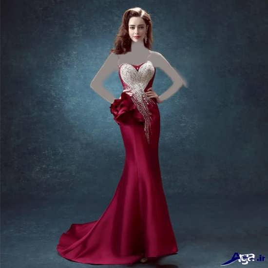 لباس ساتن دخترانه