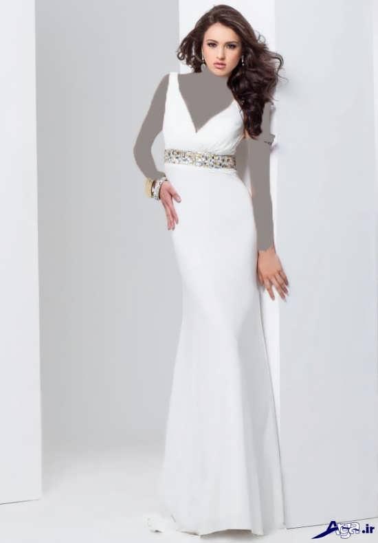 مدل لباس سفید دخترانه