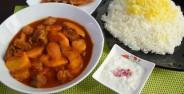 طرز تهیه خورش به + همراه نکات طلایی