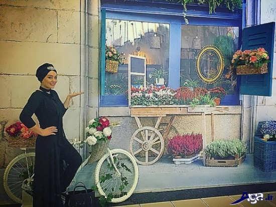تیپ سحر قریشی در استانبول