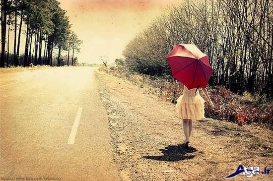 گالری تصاویر احساسی و تنهایی