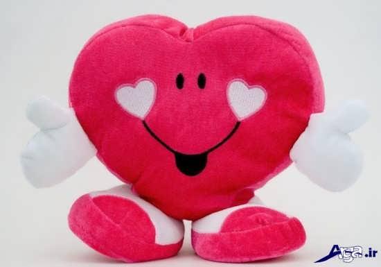 تصویر قلب عروسکی