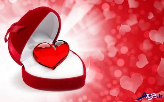 قلب عاشقانه و خاص
