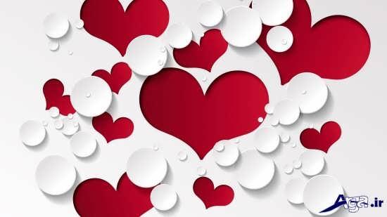 عکس قلب کاغذی