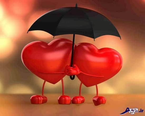 تصویر بانمک قلب ها