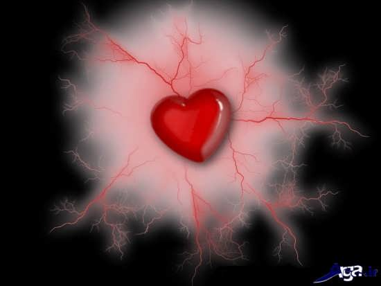 عکس قلب احساسی