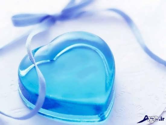 عکس قلب های آبی