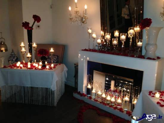 تزیین خانه با شمع