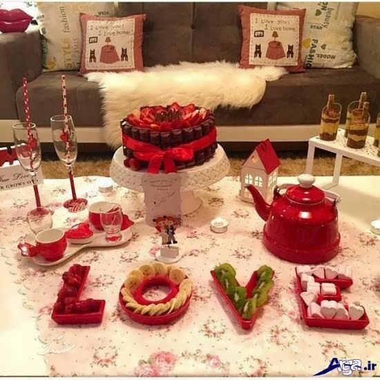 تزیینات رمانتیک برای سالگرد ازدواج