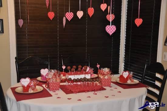 مدل میز خاطره تزیین خانه برای سالگرد ازدواج با ایده های رمانتیک
