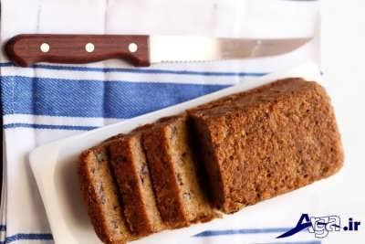 کیک موز و گردویی خوشمزه