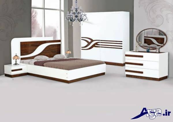 مدل های سرویس خواب با ترکیب رنگ های روشن و تیره