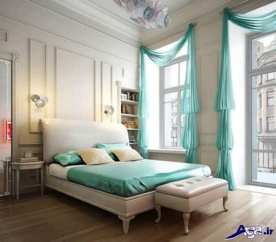 طراحی زیبای اتاق خواب عروس