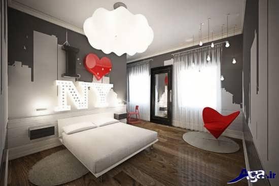 اتاق خواب عروس زیبا