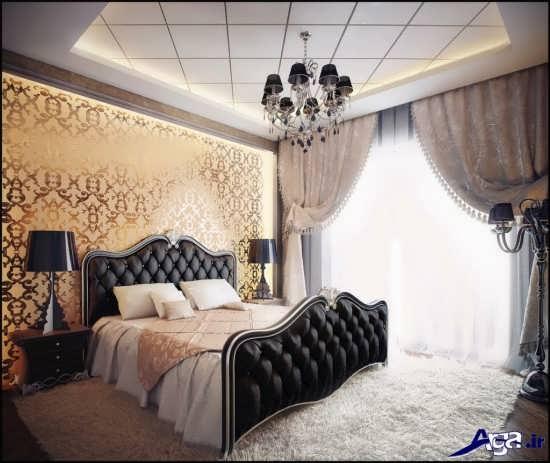 طراحی ساده اتاق خواب عروس