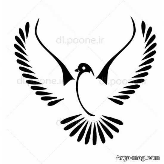 طراحی پرنده