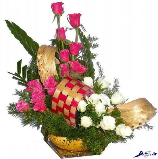 تزیین سبد گل برای خواستگاری