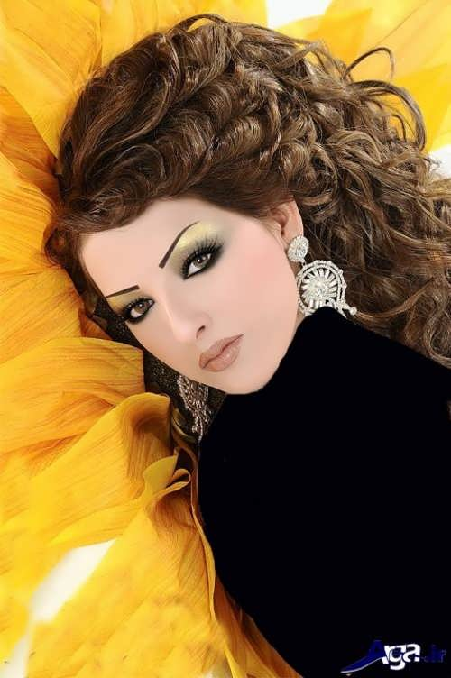 زیباترنی و جدیدترین مدل های آرایش عروس خلیجی زیبا